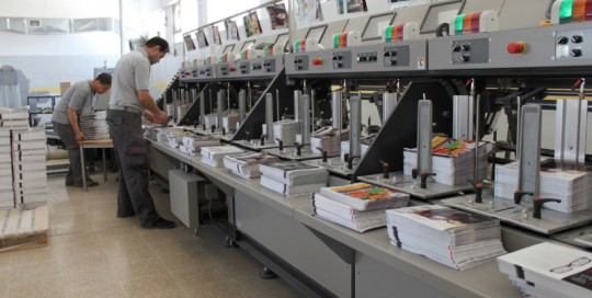 Post Printing Floor five