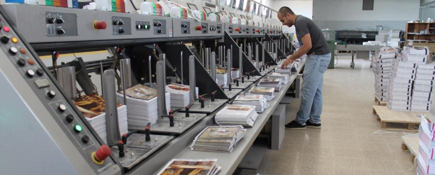 machine for book