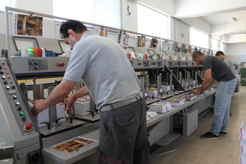 Post Printing Floor four