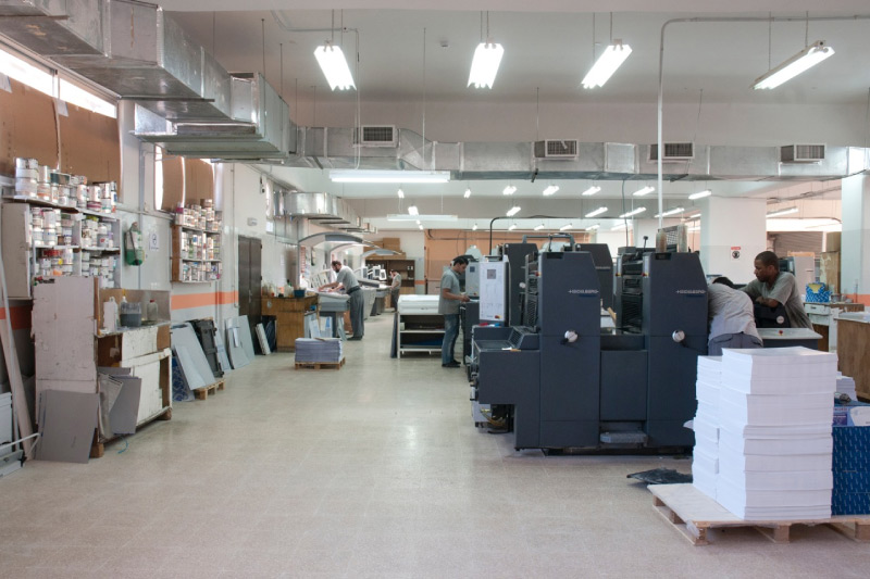 Printing Floor four